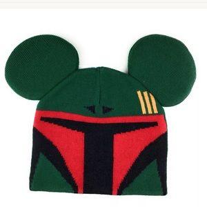 Disney Star Wars Boba Fett Ears Beanie YOUTH Size